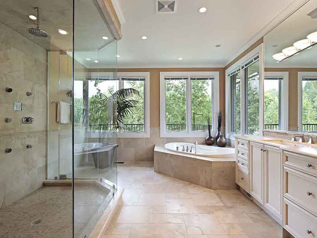 Create the ultimate bathroom with spa-like features